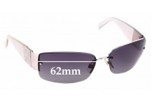 Sunglass Fix Sunglass Replacement Lenses for Chanel 4117-B - 62mm Wide
