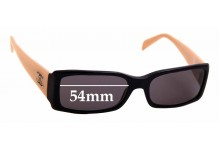 Sunglass Fix Sunglass Replacement Lenses for Chanel 5078 - 54mm Wide