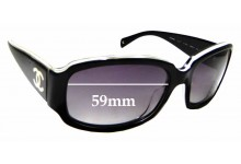 Sunglass Fix Sunglass Replacement Lenses for Chanel 5144 - 59mm Wide