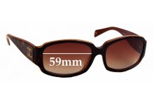 Sunglass Fix Sunglass Replacement Lenses for Chanel 5144-A - 59mm Wide