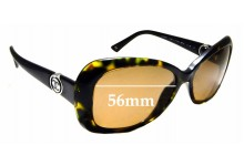 Sunglass Fix Sunglass Replacement Lenses for Chanel 5148 - 56mm Wide