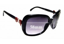 Sunglass Fix Sunglass Replacement Lenses for Chanel 5171 - 58mm Wide *Please measure as there are several models*