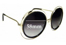 Sunglass Fix Sunglass Replacement Lenses for Chloe CE 120S - 58mm Wide