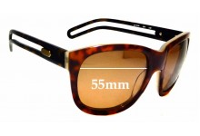Sunglass Fix Sunglass Replacement Lenses for Chloe CL 2124 - 55mm Wide