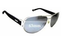 Sunglass Fix Sunglass Replacement Lenses for Chopard SCH 906 - 63mm Wide