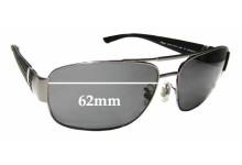 Sunglass Fix Sunglass Replacement Lenses for Chopard SCH 879 - 62mm Wide
