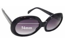 Sunglass Fix Sunglass Replacement Lenses for Cutler and Gross 0383 - 54mm Wide