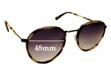 Sunglass Fix Sunglass Replacement Lenses for D'Blanc Prologue - 48mm Wide