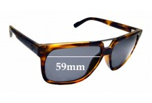 Sunglass Fix Sunglass Replacement Lenses for D'Blanc Working Title - 59mm Wide