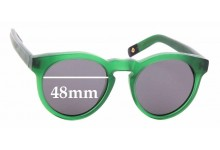 Sunglass Fix Sunglass Replacement Lenses for Dick Moby LHR - 48mm Wide