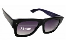 Sunglass Fix Sunglass Replacement Lenses for Dita Creator - 54mm Wide
