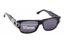Sunglass Fix Sunglass Replacement Lenses for Dita Grandmaster One - 55mm Wide