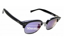 Sunglass Fix Sunglass Replacement Lenses for Dita Statesman Two - 50mm Wide