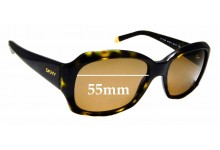Sunglass Fix Sunglass Replacement Lenses for DKNY DY4048 - 55mm Wide