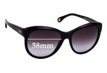 Sunglass Fix Sunglass Replacement Lenses for Dolce & Gabbana DG3061 - 58mm Wide
