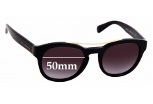 Sunglass Fix Sunglass Replacement Lenses for Dolce & Gabbana DG4274 - 50mm Wide