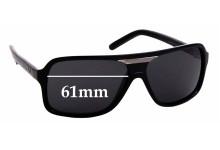 Sunglass Fix Sunglass Replacement Lenses for Dolce & Gabbana DG8068 - 61mm Wide