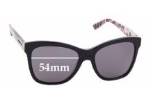 Sunglass Fix Sunglass Replacement Lenses for Dolce & Gabbana DG3212 - 54mm Wide