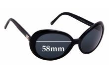 Sunglass Fix Sunglass Replacement Lenses for Dolce & Gabbana DG4076 - 58mm Wide