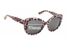 Sunglass Fix Sunglass Replacement Lenses for Dolce & Gabbana DG4233 - 53mm Wide