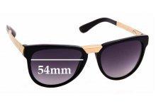 Sunglass Fix Sunglass Replacement Lenses for Dolce & Gabbana DG4257-F - 54mm Wide