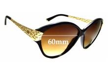 Sunglass Fix Sunglass Replacement Lenses for Dolce & Gabbana DG4130 - 60mm Wide