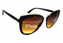 Sunglass Fix Sunglass Replacement Lenses for Dolce & Gabbana DG4304 - 57mm Wide