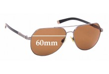 Sunglass Fix Sunglass Replacement Lenses for Dolce & Gabbana DG2133 Basalto Collection - 60mm Wide