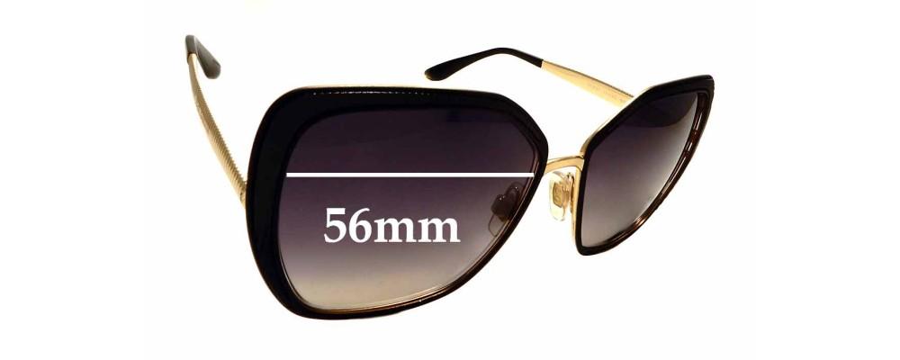 Sunglass Fix Sunglass Replacement Lenses for Dolce & Gabbana DG2197 - 56mm Wide