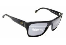Sunglass Fix Sunglass Replacement Lenses for Dolce & Gabbana DG3044 - 56mm Wide