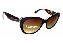Sunglass Fix Sunglass Replacement Lenses for Dolce & Gabbana DG4189 - 54mm Wide
