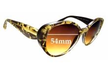 Sunglass Fix Sunglass Replacement Lenses for Dolce & Gabbana DG4198 - 54mm Wide