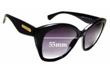 Sunglass Fix Sunglass Replacement Lenses for Dolce & Gabbana DG4220 - 55mm Wide
