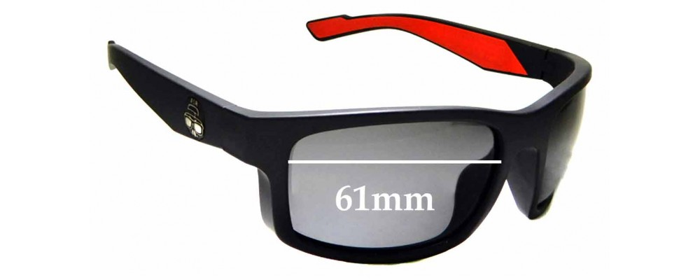 SFX Replacement Sunglass Lenses fits Otis Young Blood 64mm Wide