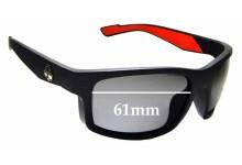 Sunglass Fix Sunglass Replacement Lenses for Epoch Eyewear Adam Sandoval Rides ASR - 61mm Wide