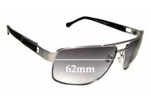 Sunglass Fix Sunglass Replacement Lenses for Ermenegildo Zegna SZ 3117 - 62mm Wide