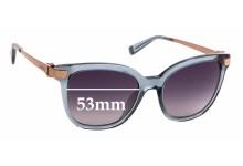 Sunglass Fix Sunglass Replacement Lenses for Escada SES 493S - 53mm Wide
