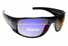 Sunglass Fix Sunglass Replacement Lenses for Eyres Australia Safety 614 - 66mm Wide