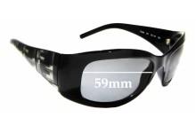 Sunglass Fix Sunglass Replacement Lenses for Fendi FS 299 - 59mm Wide