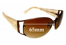 Sunglass Fix Sunglass Replacement Lenses for Fendi FS 483 - 65mm - Professional Install Recommended