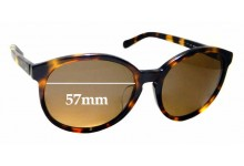 Sunglass Fix Sunglass Replacement Lenses for Fossil Fos 3048/F/S - 57mm Wide