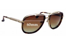 Sunglass Fix Sunglass Replacement Lenses for Frency & Mercury The Hero - 60mm Wide