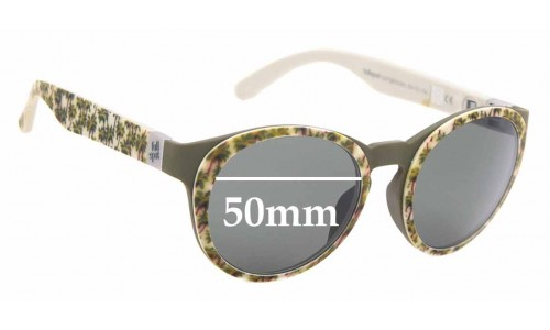 Sunglass Fix Sunglass Replacement Lenses for Fullspot O Sun - 50mm