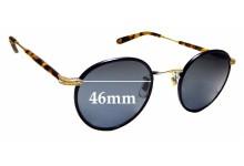 Sunglass Fix Sunglass Replacement Lenses for Garrett Leight Wilson - 46mm Wide
