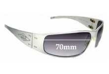 Sunglass Fix Sunglass Replacement Lenses for Gatorz Quantum - 70mm Wide