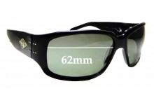 Sunglass Fix Sunglass Replacement Lenses for Gatorz Saphron - 62mm Wide