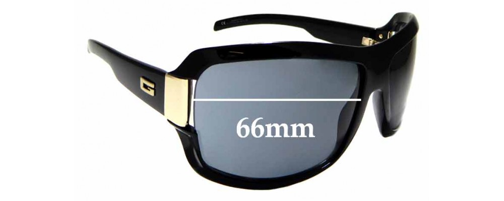 Sunglass Fix Sunglass Replacement Lenses for Gucci GG1510/N/S - 66mm Wide