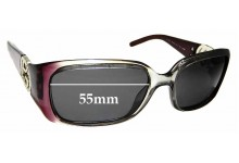 Sunglass Fix Sunglass Replacement Lenses for Gucci GG 3504/S - 55mm Wide