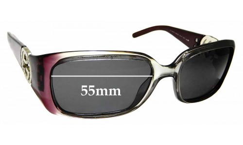 Sunglass Fix Sunglass Replacement Lenses for Gucci 3504/S - 55mm wide