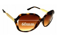 Sunglass Fix Sunglass Replacement Lenses for Gucci GG 0076/S - 60mm Wide